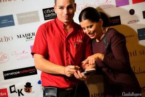 Asesores de moda, escaparatistas, empresarios del mundo del calzado, belleza, revistas, modelos y hasta un simpático camarero Javier Ropero, todos estuvieron representados en este evento de mi blog.