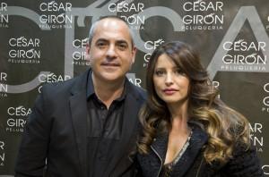 Gerente de las peluquerías César Girón.
