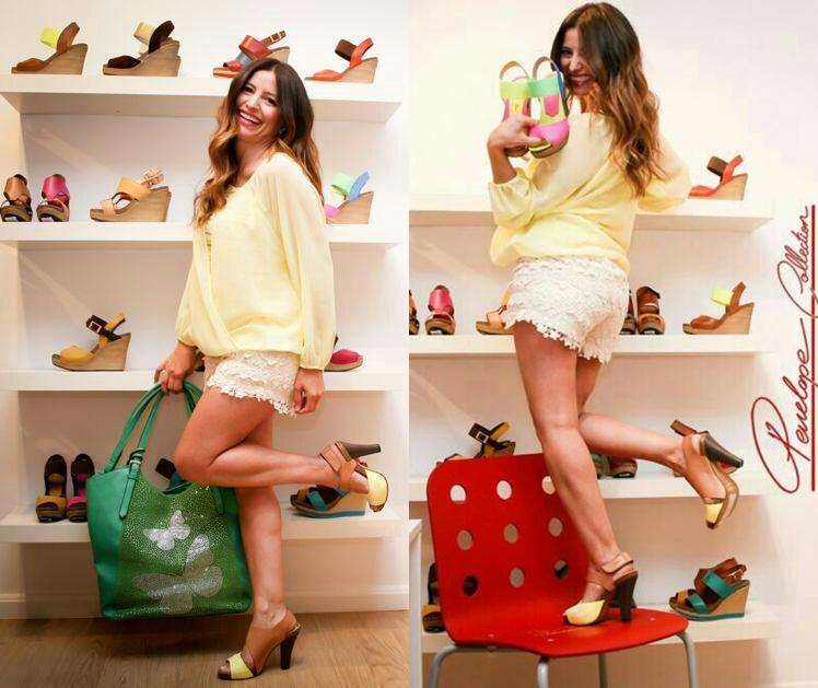 Una pillada agarrando los modelos que quería quedarme, un mundo de color fluor para tus pies este verano.