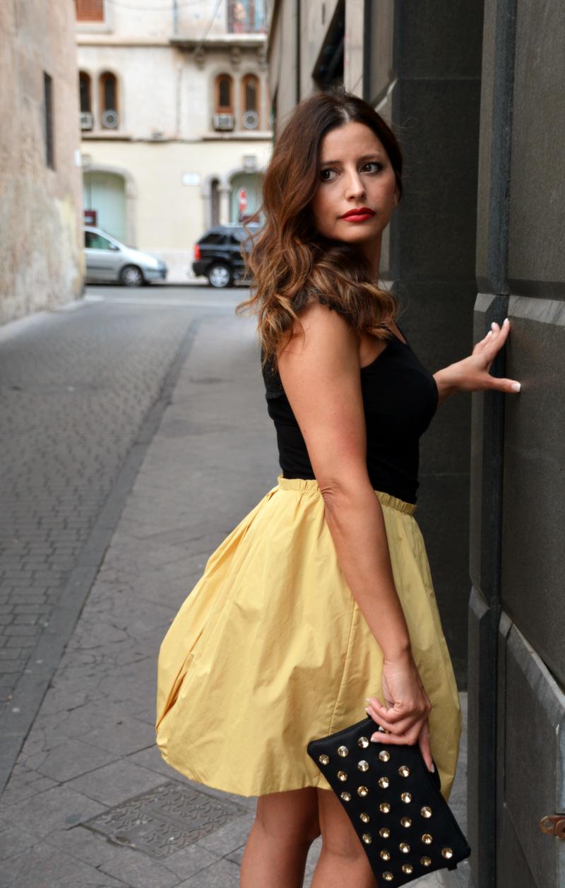 c2303c574 vestido falda abullonada