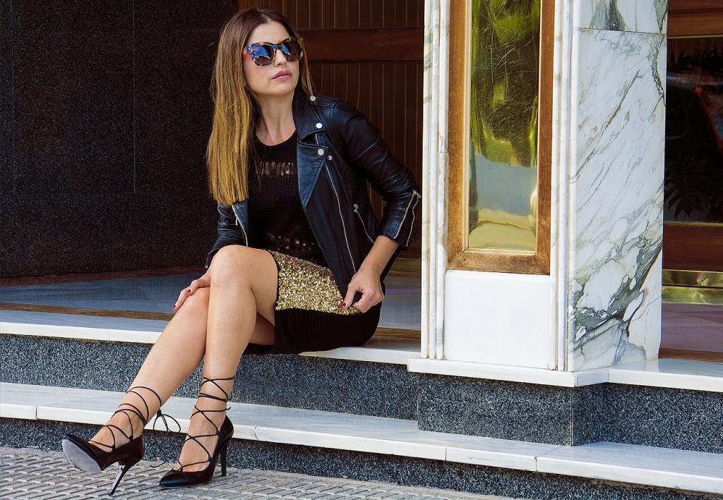 falda dorada12