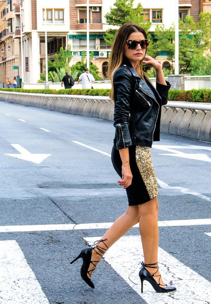 falda dorada13