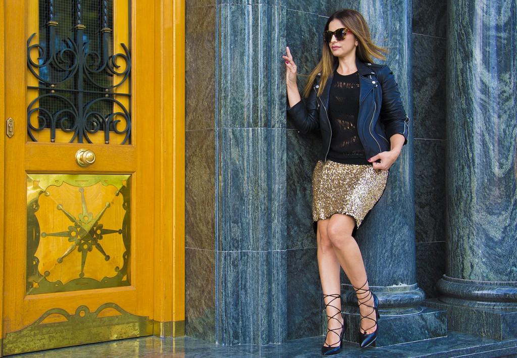 falda dorada3