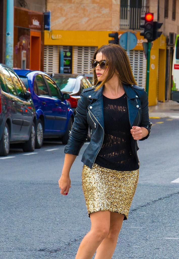 falda dorada4