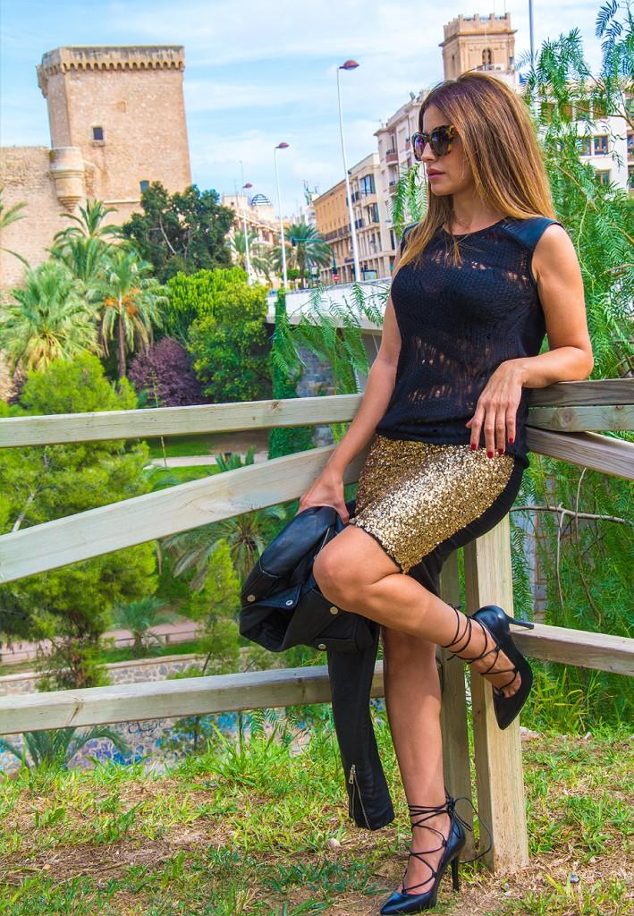 falda dorada6