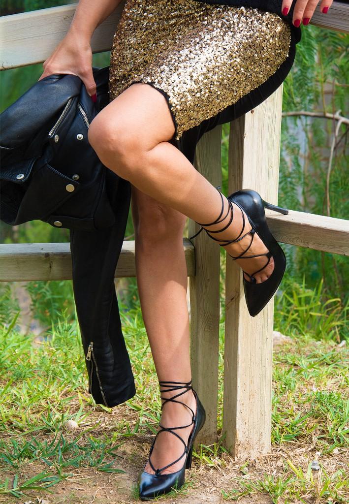 falda dorada7