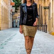 falda dorada9