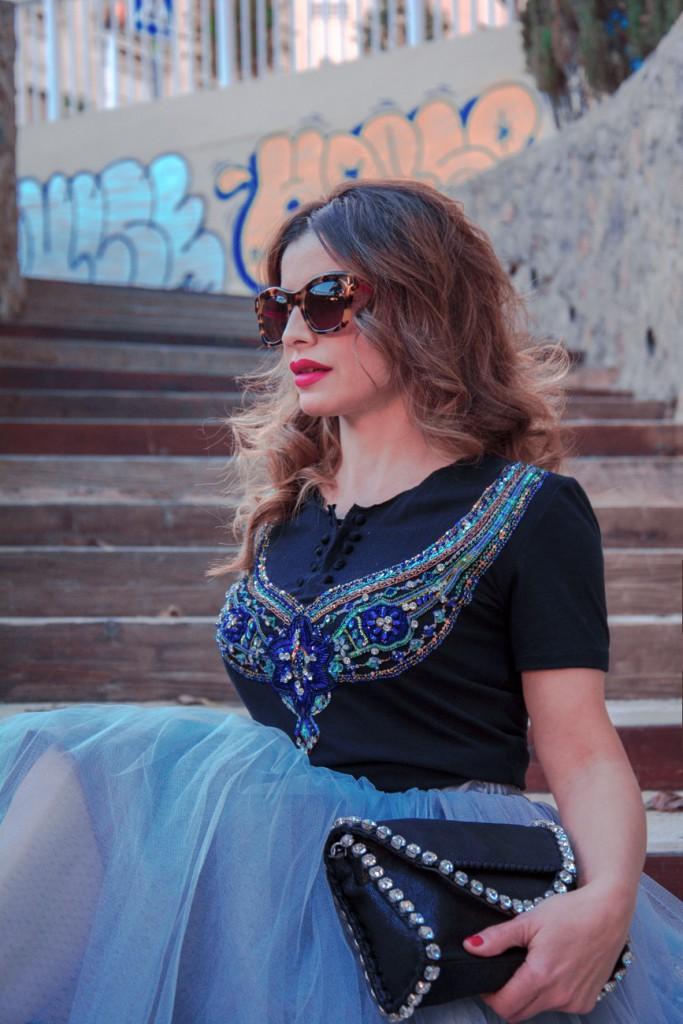 Antonella - un cambio en ti misma falda de tul