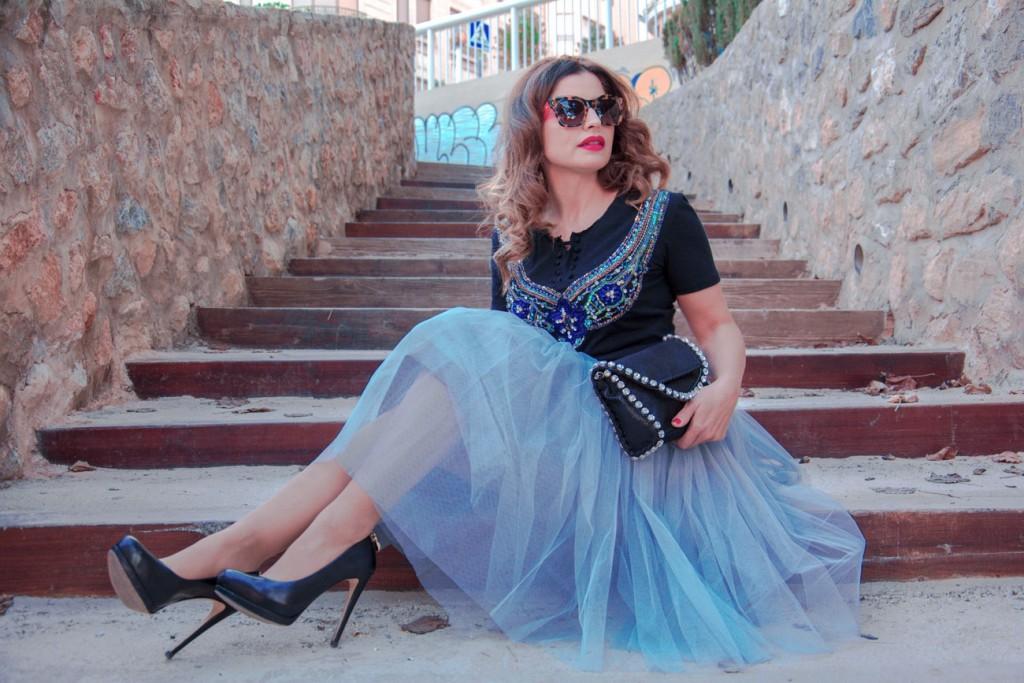 Falda de tul - Un cambio en ti misma - Antonella