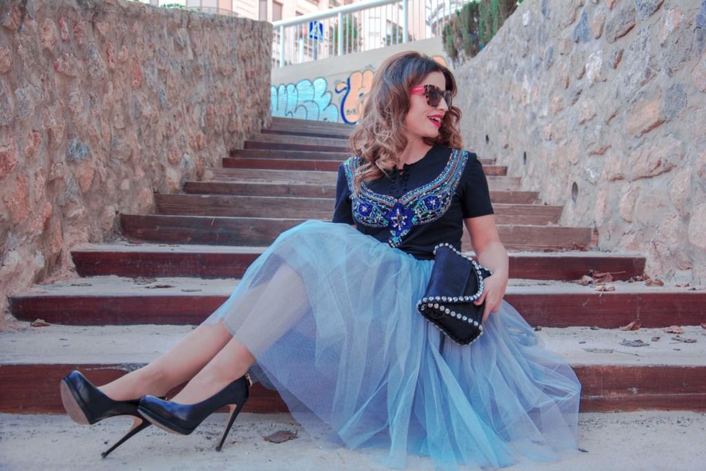 Falda de Tul Antonella