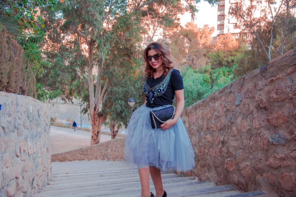 Falda de tul - Antonella