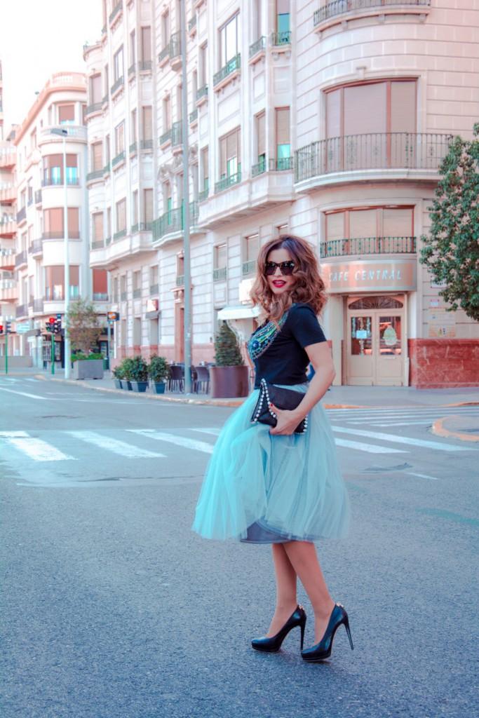 Antonella - Un cambio en ti misma - Falda de Tul