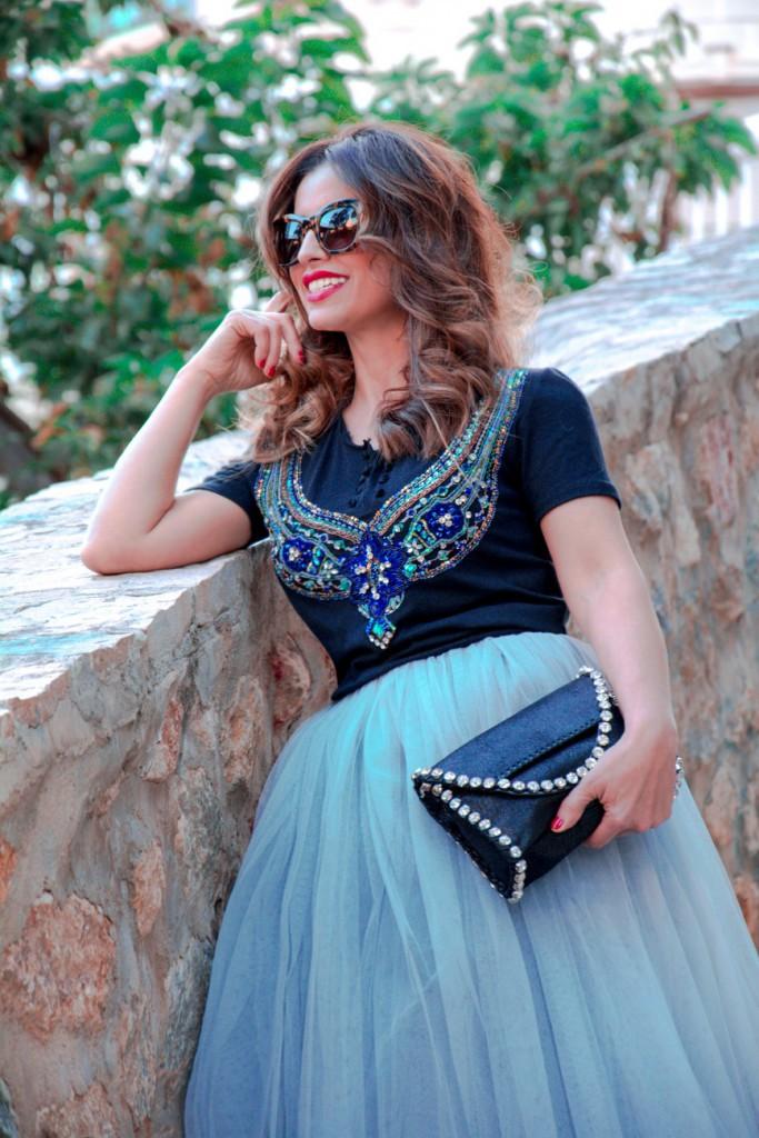 Antonella - un cambio en ti - Falda de Tul