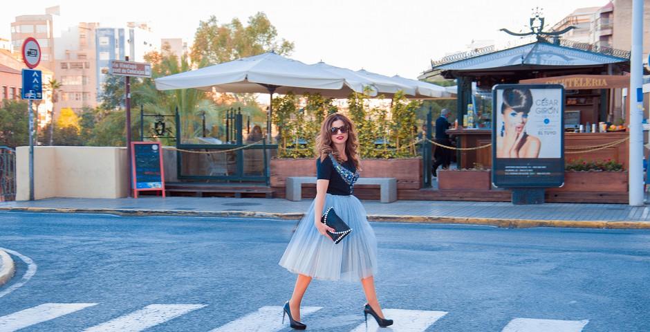 Falda de tul Año nuevo - Un cambio en ti misma