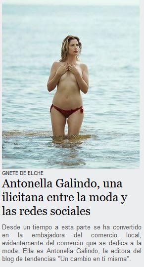 Gente de Elche - Antonella Galindo