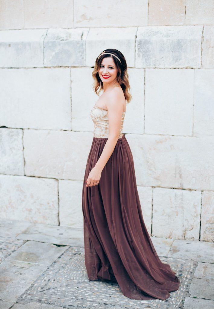 Look Vestido Largo