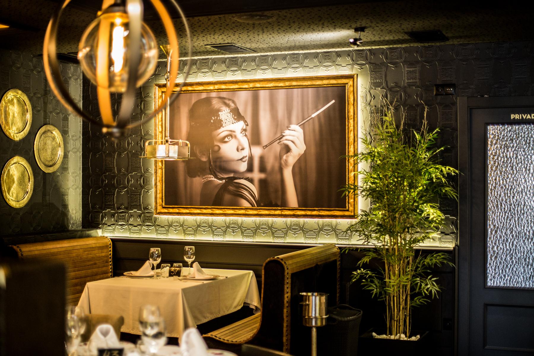 Monumental restaurant un cambio en ti misma for Decoracion anos 20