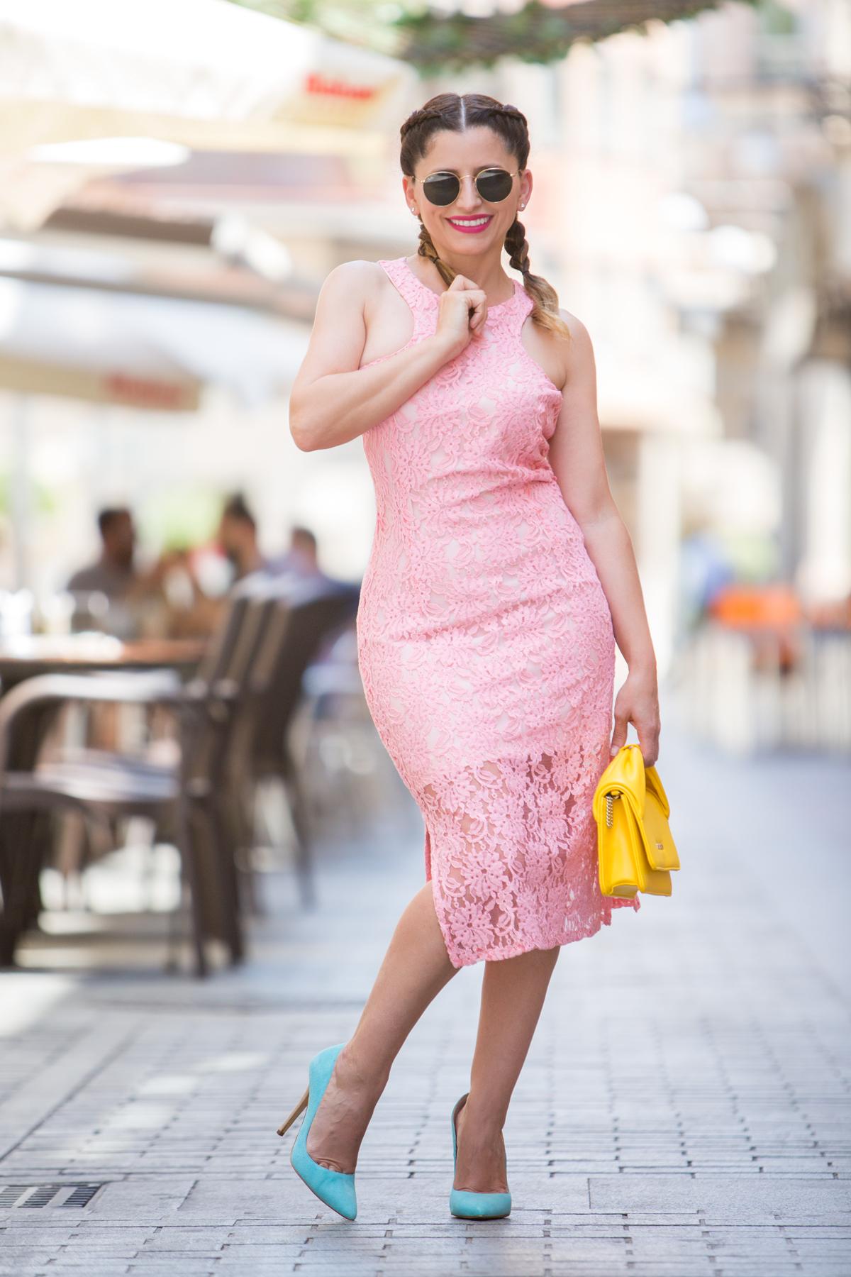 Vestidos verano color rosa